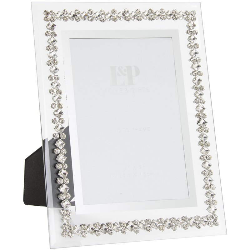 MIRROR DIAMANTE FRAME 5X7
