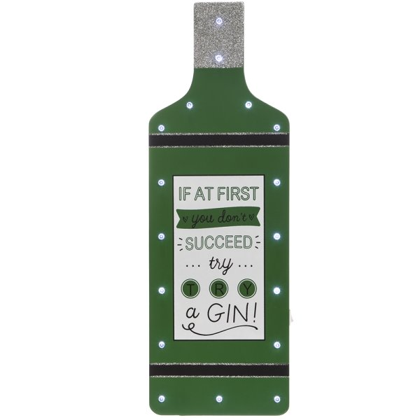 TRY A GIN LED BOTTLE