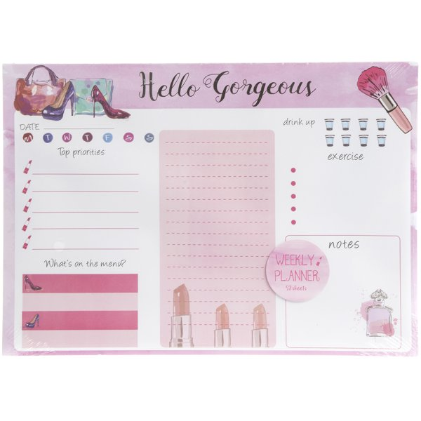 GORGEOUS WEEKLY PLANNER