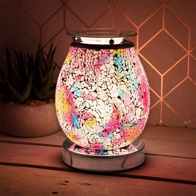 DESIRE AROMA LAMP MULTI MOSAIC