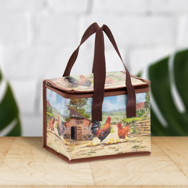 COCKEREL & HEN LUNCH BAG