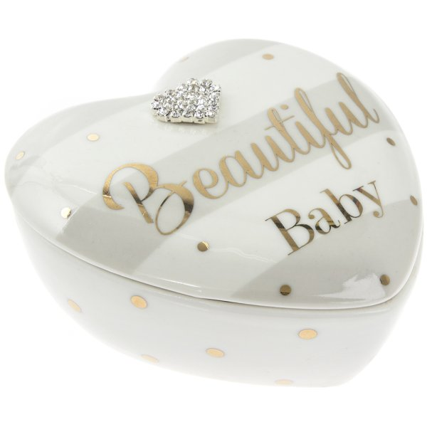 MAD DOTS BABY HEART TRINKET