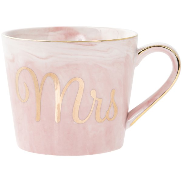 MARBLE & GOLD MRS MUG
