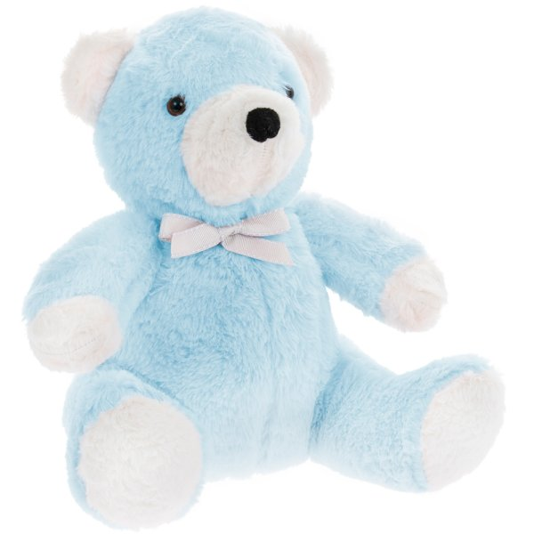 BLUE TEDDY DOORSTOP