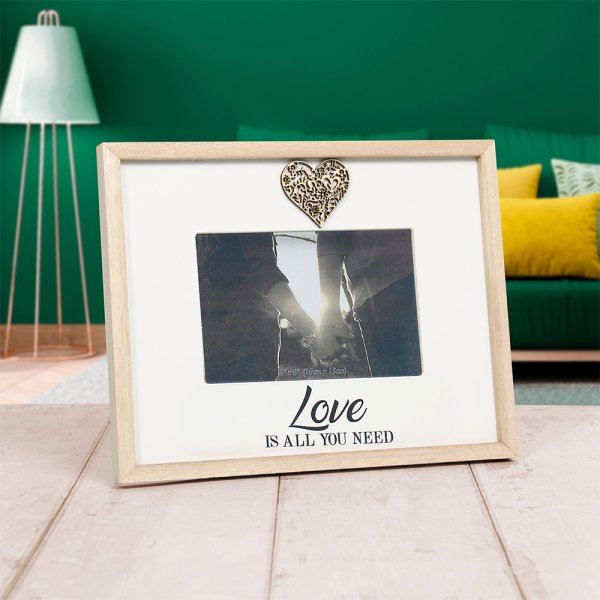 SENTIMENTS FRAME LOVE 4X6