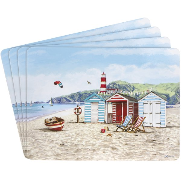 SANDY BAY PLACEMATS SET 4