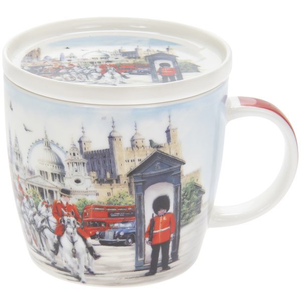 LONDON COLLAGE MUG & COASTER