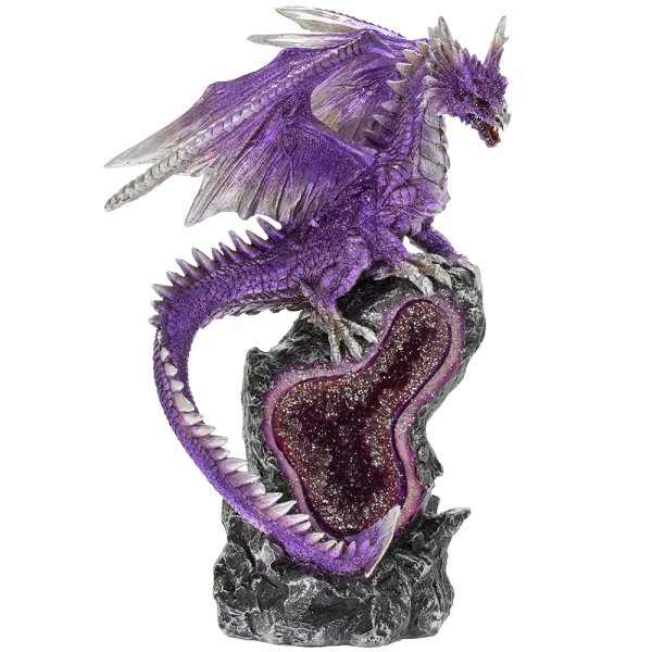 DRAGON WITH LIGHTS PURPLE