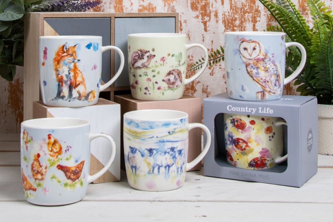 Design Country Life Mugs