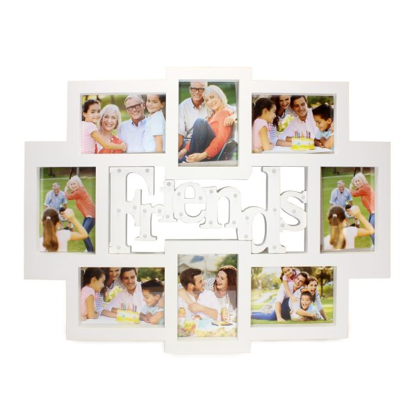FRIEND PHOTO FRAME COLLAGE LED