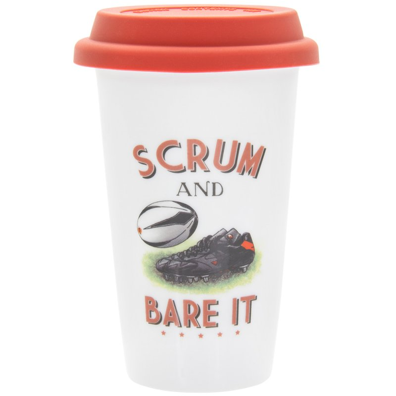 RUGBY TRAVEL MUG