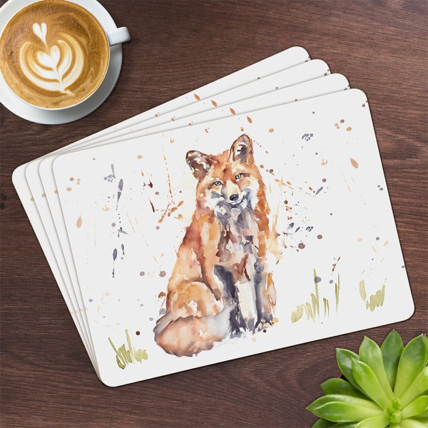 COUNTRY LIFE FOX PLACEMATS S4