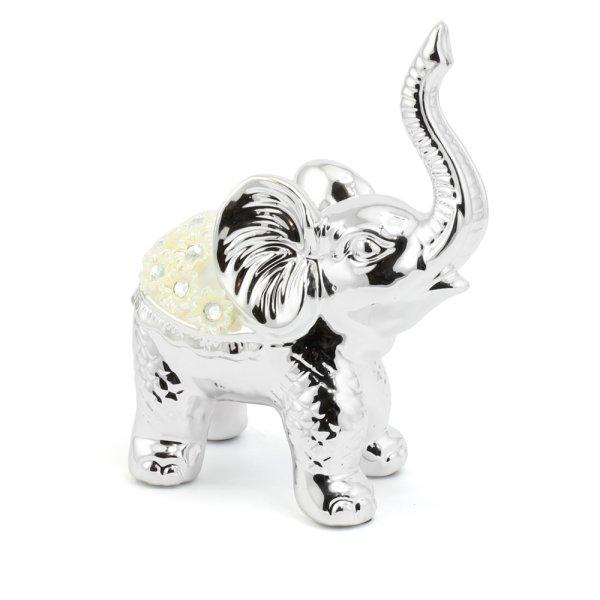 SILVER MILLE ELEPHANT - L