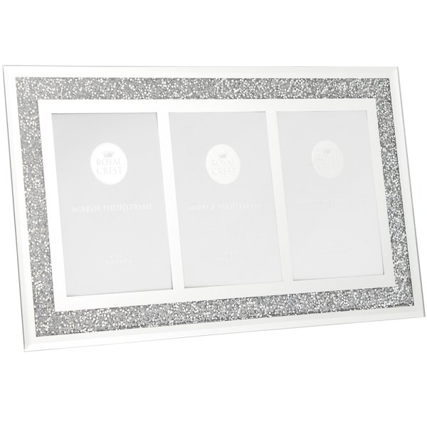 MIRROR DIAMANTE TRPLEFRAME4X6""