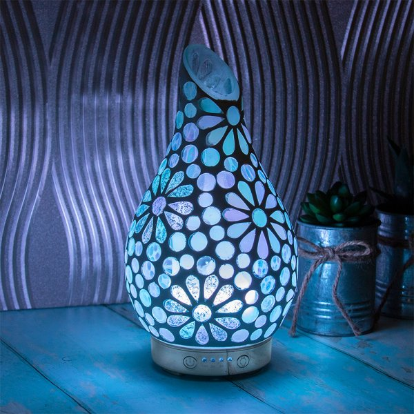 WHITE FLOWER HUMIDIFIER