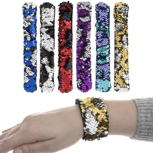 MERMAID SEQUIN BRACELET 6 ASST
