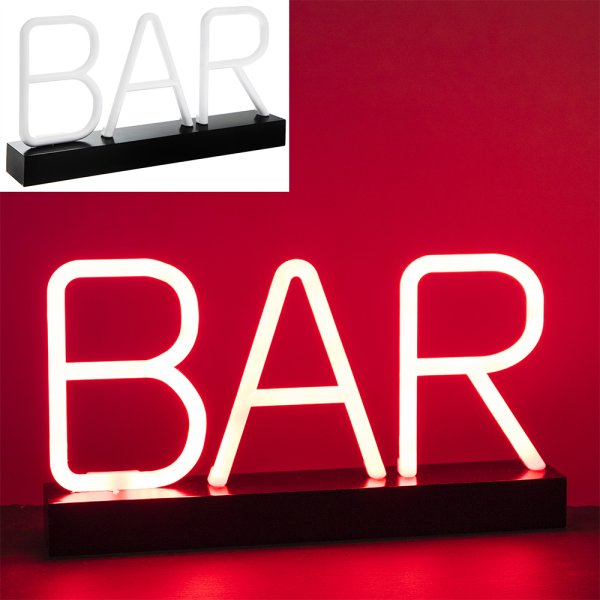 BAR RED NEON LAMP