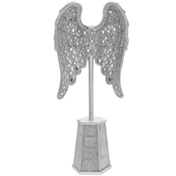 SILVER ART ANGLWINGSONTHESTAND