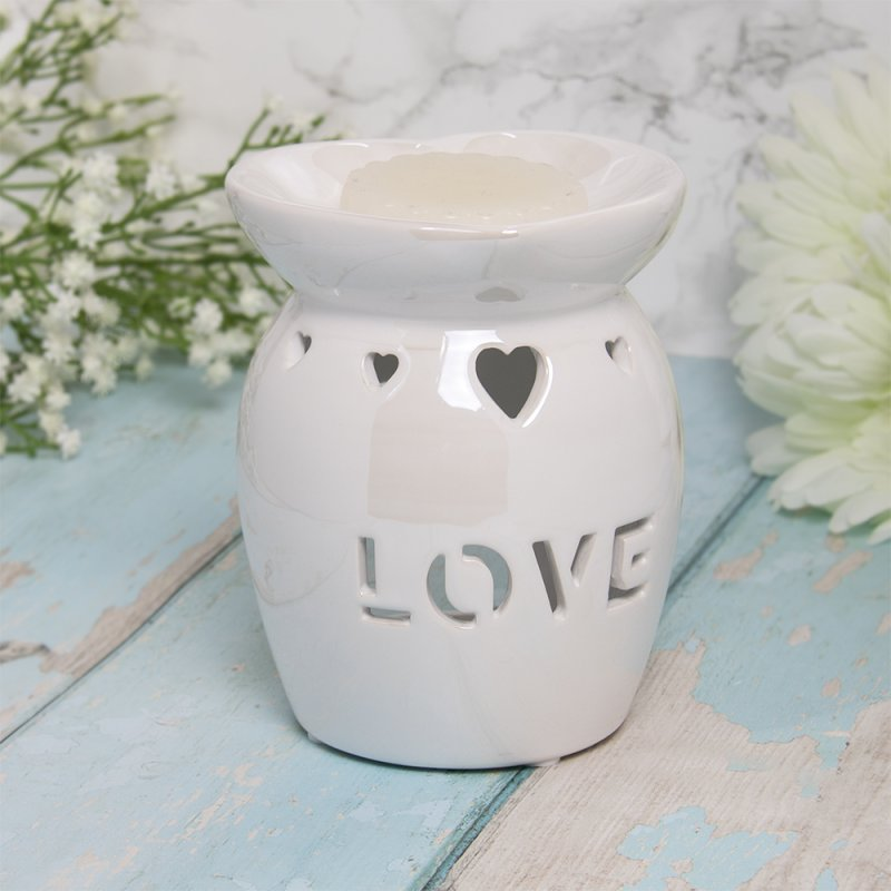 WAX/OIL WARM LOVE WHITE LUSTER