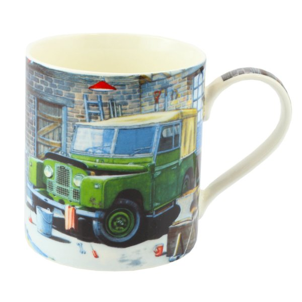 LAND ROVER FINE CHINA MUG