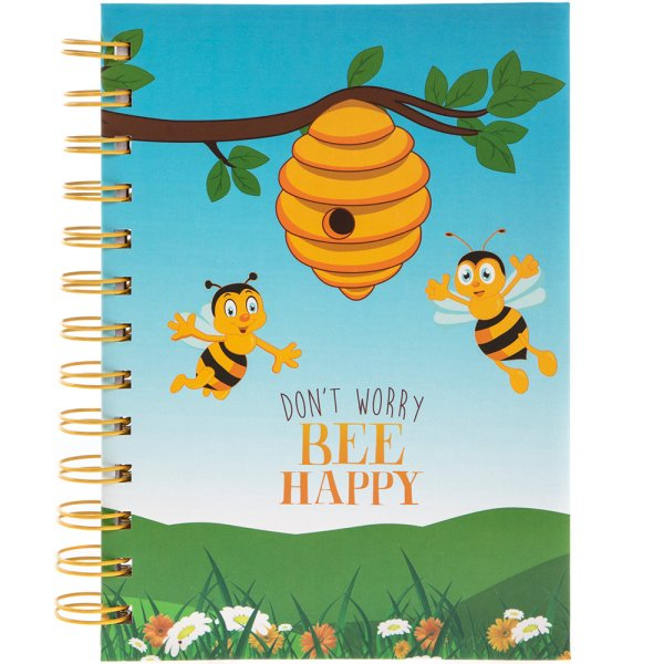 BEE HAPPY B6 NOTEBOOK
