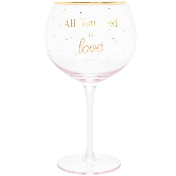 GIN GLASS LOVE
