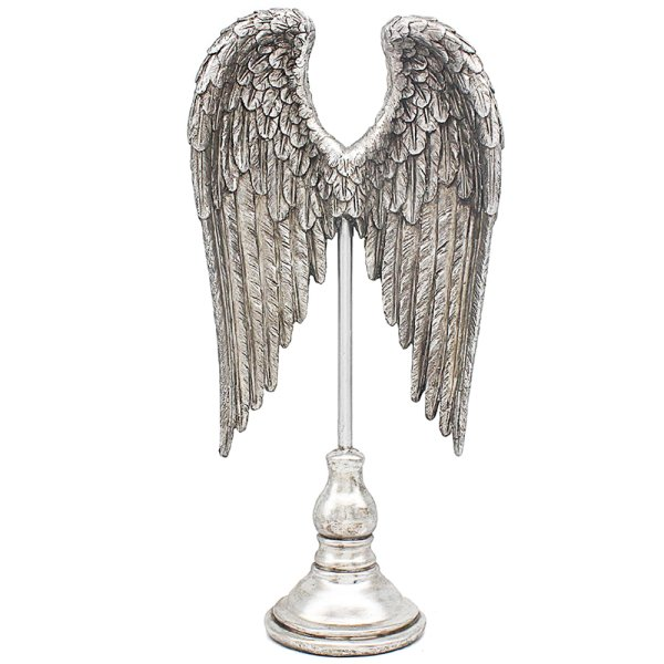 SILVER ART ANGEL WINGS 19.5""