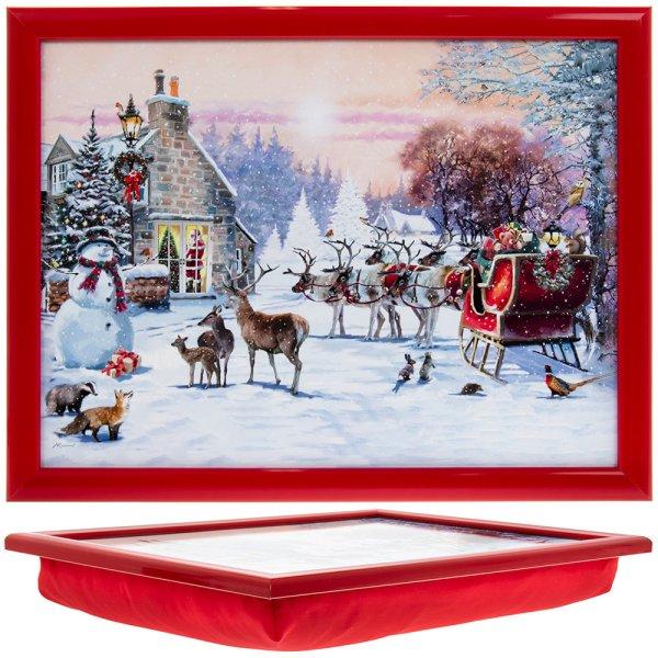 MAGIC OF CHRISTMAS LAPTRAY