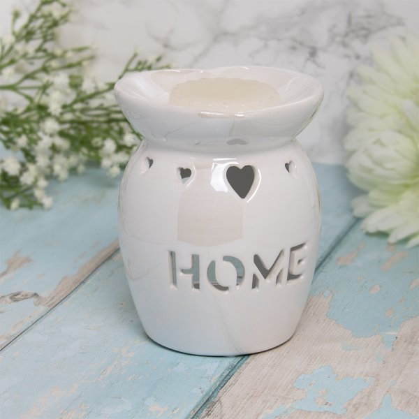 WAX/OIL WARM HOME WHITE LUSTRE