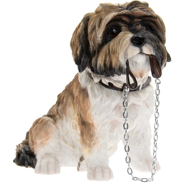 SITTING SHIH TZU WALKIES BRN