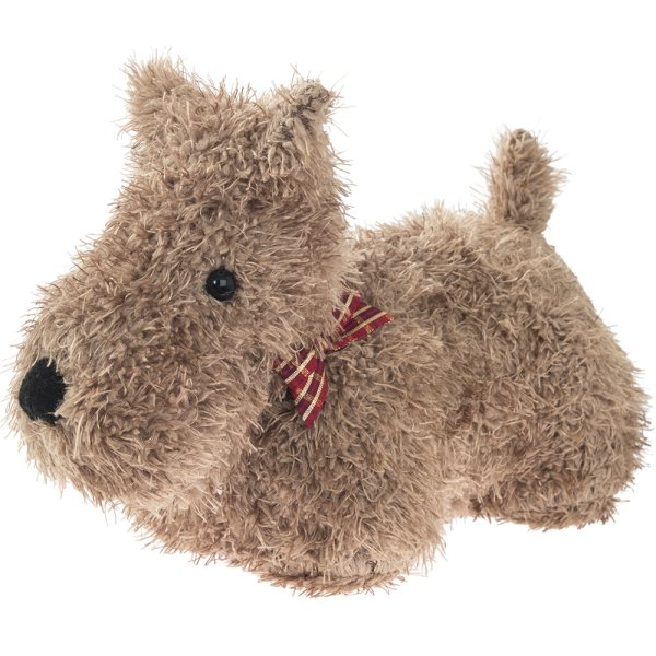 DOG DOORSTOP BROWN