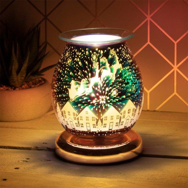 3D GOLD DEER AROMA LAMP
