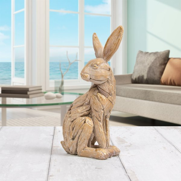DRIFTWOOD HARE SITTING
