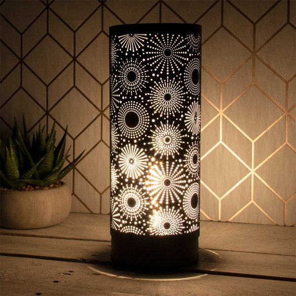 DESIRE SPARKLE LAMP BLACK