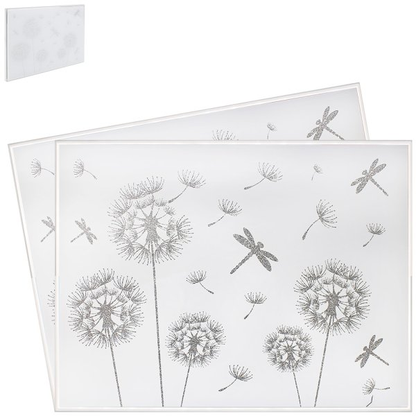 MIRROR DRAGONFLY PLACEMAT S2