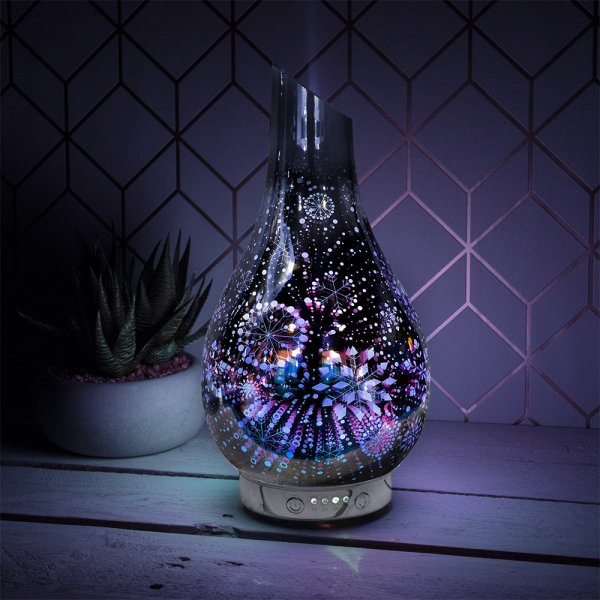 SILVER SNOWFLAKES HUMIDIFIER