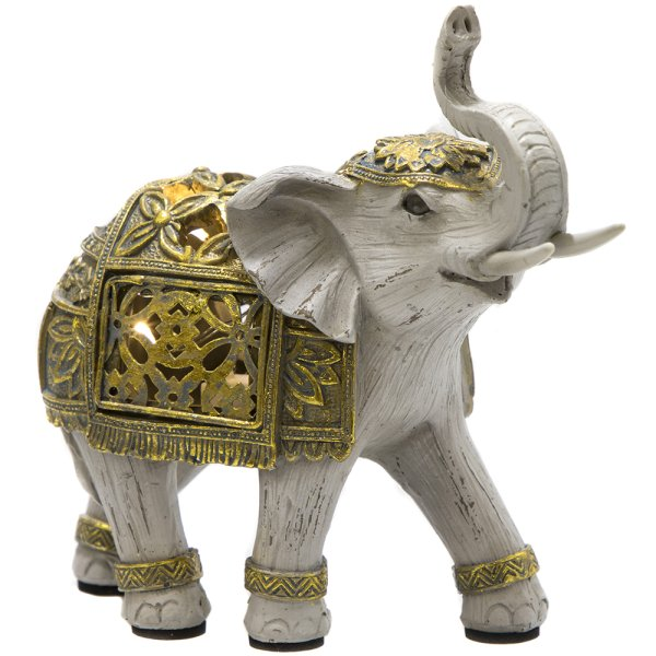 LED GOLD ELEPHANT SML