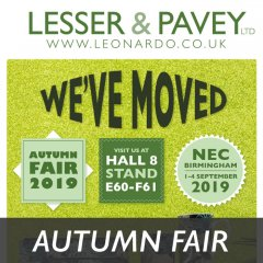 Less Than 2 Weeks to Autumn Fair 2019