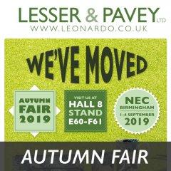 Less Than 2 Weeks to Autumn Fair 2019