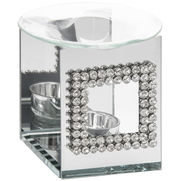 DIAMANTE MIRROR OIL BURNER
