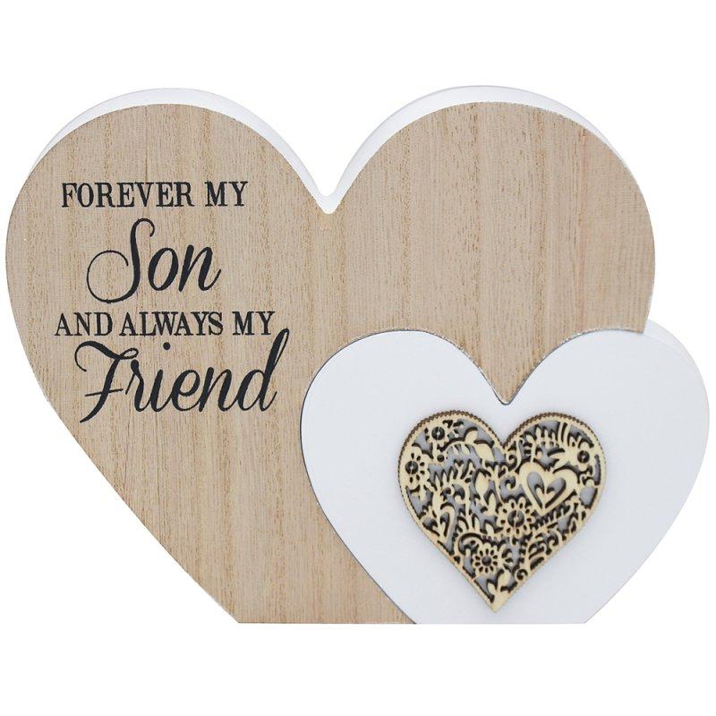 SENTIMENTS DOUBLE HEART SON