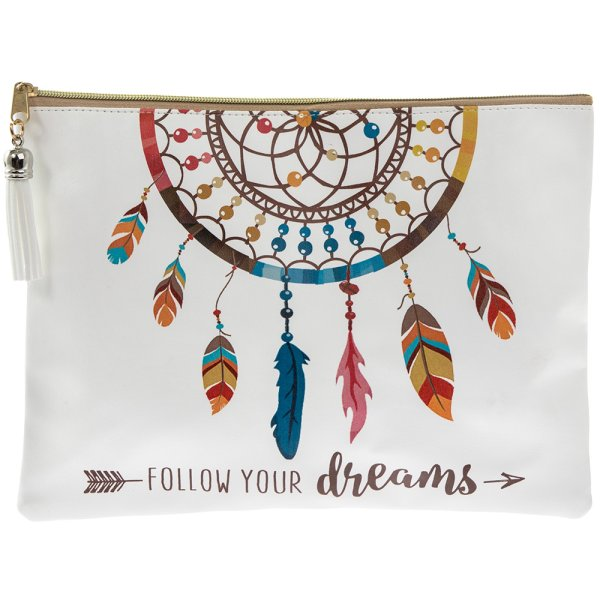 FOLLOW YOUR DREAMS CLUTCHPURSE