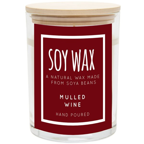 DESIRE SOY CANDLE MULLEDWINE L