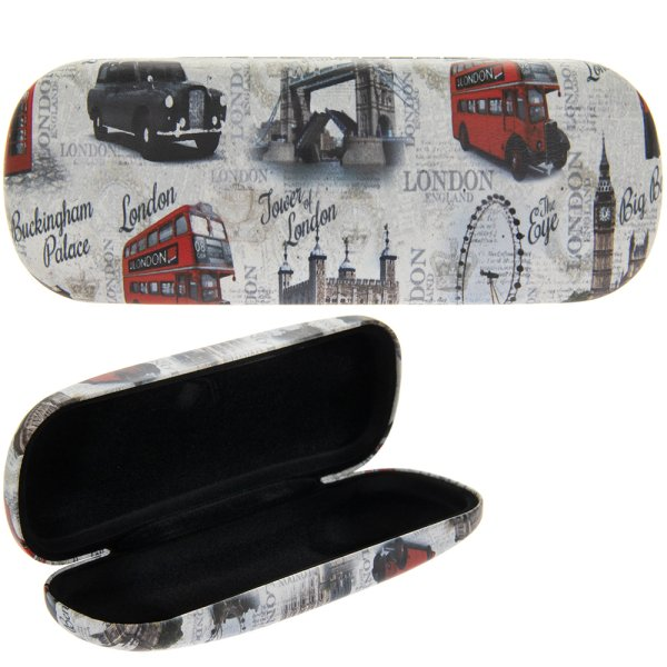 VINTAGE LONDON GLASSES CASE
