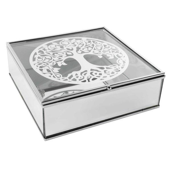 MIRROR TREE OF LIFE JEWEL BOX