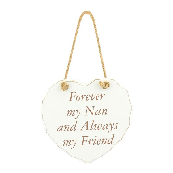 FOREVER MY NAN PLAQUE