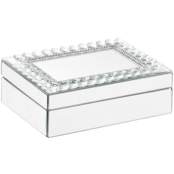 DIAMANTE MIRROR BOX