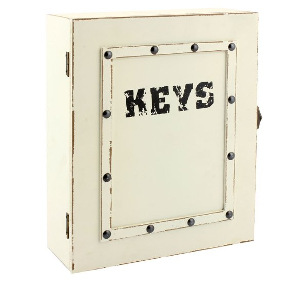 SUITCASE KEY BOX CREAM