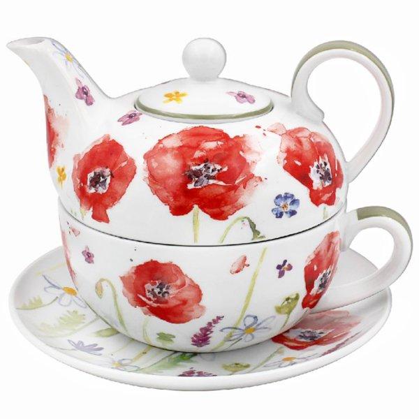 POPPY FIELD TEA FOR ONE