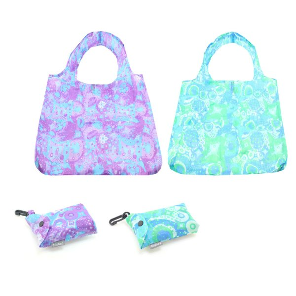 PURPLE & BLUE CLIP BAG 2 ASST